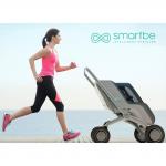 Smartbe, Poussette de luxe high tech, motorisée, autonome et connectée
