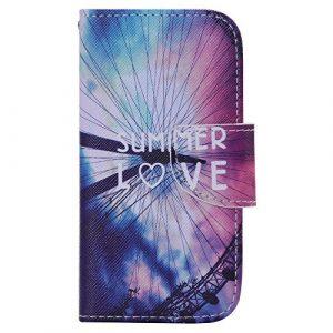 Jepson Samsung Galaxy S4 Mini / i9190 i9195 (4.3 pouces) coque , PU Cuir Portefeuille Etui Housse Case Cover , carte de crédit Fentes pour , L'utilisation de la technologie de pointe , idéal pour protéger votre téléphone ,