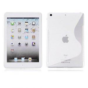 Premium Housse étui pour Apple iPad Mini 4Transparent Design S-Line Wave Coque en gel silicone pour Apple iPad Mini 4