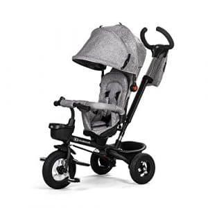 Enfant Force AVEO Gray Tricycle avec accessoires durchstich Roues en caoutchouc antidérapante Nouveau Modèle ECE. r44.04