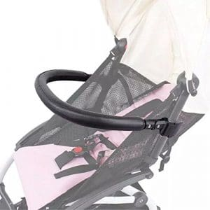 Pare-chocs pour poussette de bébé, accessoires pour Babyzen YoYo, cuir PU noir