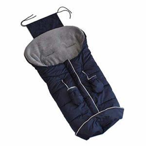 Ritapreaty Sac de Couchage pour Poussette de bébé, Coussin de Couverture Chaude pour Coussin de Couverture pour siège de Voiture, Poussette Hiver Froid