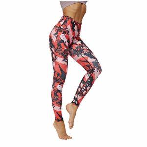Femmes Pantalon De Mode Haut Pantalon De Yoga Course à Pied Impression De Poche Fitness Femmes Cultivez Yoga Pants Soi Neuvième