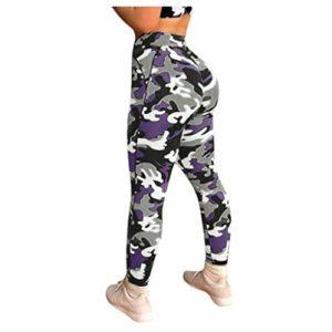 Femmes Workout Print Leggings Fitness Sports Running Yoga Athletic Pants Pantalon de Yoga imprimé Hip hop imprimé numérique Camouflage Pantalon de survêtement Leggings