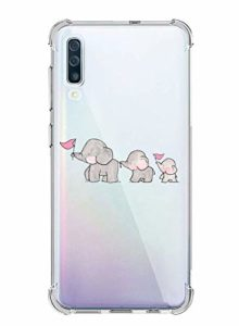 Suhctup Coque Compatible pour Samsung Galaxy A20E TPU Souple Silicone,Transparent Housse de Protection Antichoc Quatre Coins Renforcés Etui Ultra-Mince Motif Animal Crystal Cover Case(8)
