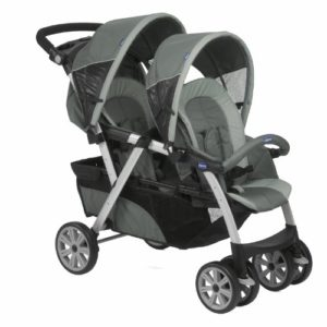 Chicco Poussette Double Together Graphite