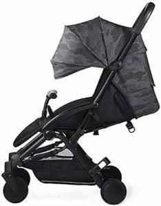 Cxjff Bébé Portable Panier, Umbrella Fold bébé lumière Solaire Haute capacité Confortable Panier Suspension Skylight (Color : Multicoloured)
