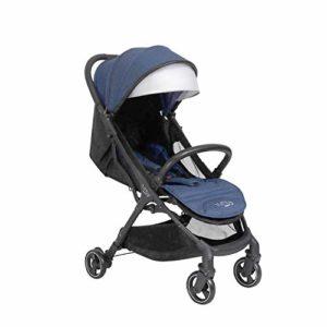 Tutti Bambini Momi Black/Midnight Chaise de promenade