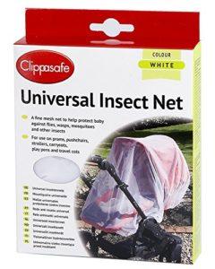 Clippasafe Filet Universel Anti nsecte et Anti Moustique pour Poussette One size UK Import