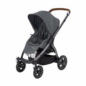 Bébé Confort Stella, Poussette Tout-Terrain, Maniable et Pratique, de la Naissance à 3,5 ans (0-15kg), Sparkling Grey