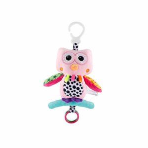 Lit Bébé Hanging Poupée Animaux En Peluche Poussette Toy Construit En Boîte À Musique Apaisez Hanging Toy Sensorielle Pour Pink Nourrisson