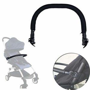 Renoble Barre de pare-chocs pour poussette avec appui rotatif et support en mousse PU intégré pour bébé et bébé