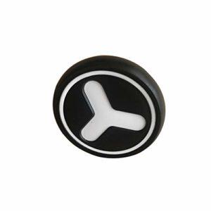 Roue de poussette arrière pivotante à 360 degrés, partie pratique avant et arrière pour enfants en caoutchouc souple durable (roue arrière) rear wheel Voir image