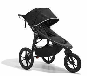 Baby Jogger Summit X3 Poussette de sport pliable à 3 roues Noir